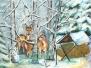 2017 Konkurs plastyczny Moje zimowe spotkanie z lasem