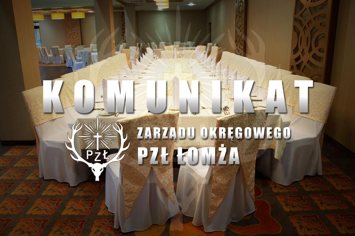 Zaproszenie Na Myśliwski Bal Karnawałowy 23 Stycznia 2016 Pzł łomża